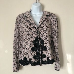 Vintage thick lace jacket